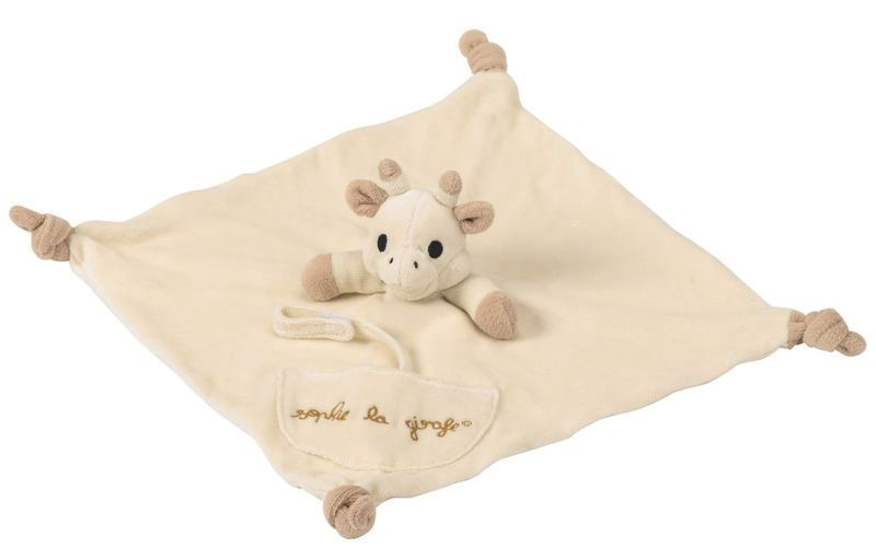 Vulli Sophie La Girafe And Comforter With Pacific Holder Set