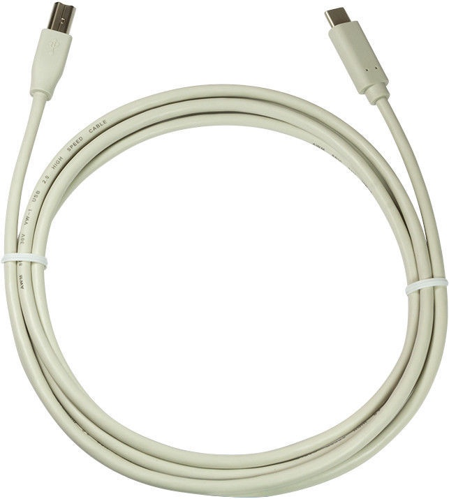 Logilink USB 2.0 Type-C To Type-B Cable White 1m