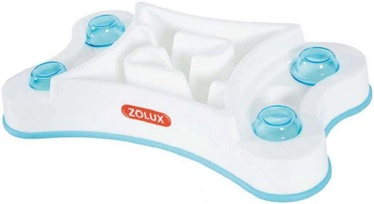 Zolux Rectangular Anti-Gulping Bowl 1.6l