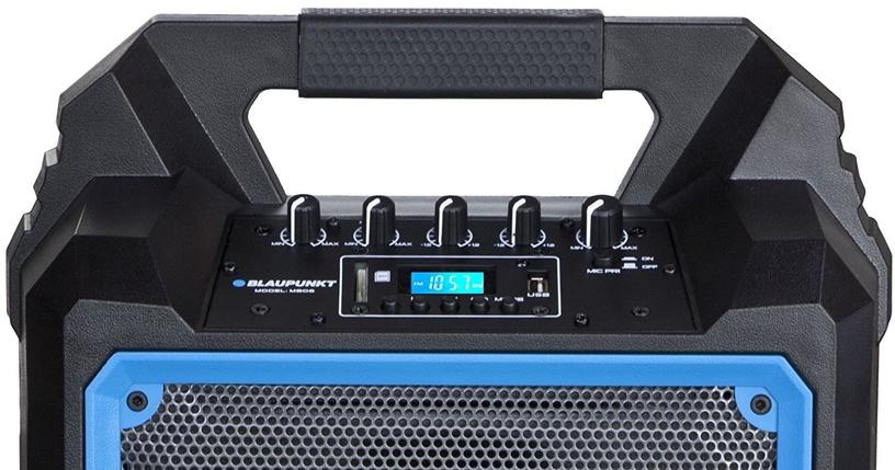 Беспроводной динамик Blaupunkt MB06 Black/Blue, 500 Вт