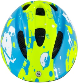 Шлем Force Fun Planets, синий/желтый, S, 480 - 540 мм