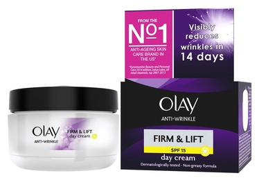 Sejas krēms Olay Anti Wrinkle Firm & Lift Day Cream SPF15, 50 ml