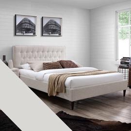 Gulta Home4you Emilia + Harmony Delux Beige, 160 x 200 cm