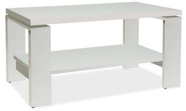 Kafijas galdiņš Signal Meble Paola White, 1000x550x500 mm