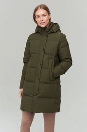 Audimas Puffer Down Coat w/ Membrane Olive Night XXXL