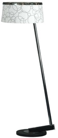 Candellux Impresja Floor Lamp 60W E27 White /Chrome