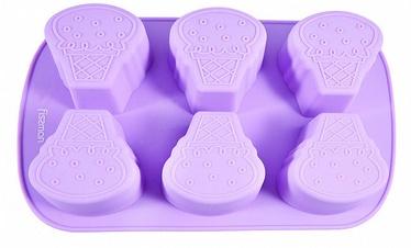 Fissman Cake Mold Ice Cream 26.2x16.5x3.5cm 6 Cups