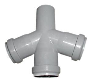 Kanalizācijas caurules krustgabals Magnaplast HTplus D50mm, 67°, PP