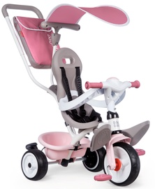 Трехколесный велосипед Smoby Baby Bike Balade, розовый