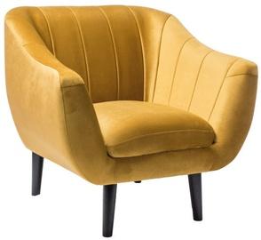 Atzveltnes krēsls Signal Meble Elite 1 Velvet Gold, 83x68x91 cm