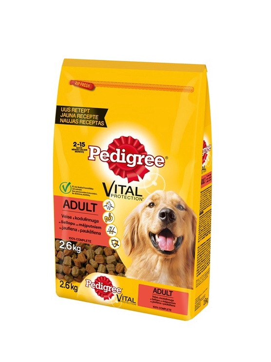 Pedigree Vital Protection Adult Beef & Poultry 2.6kg