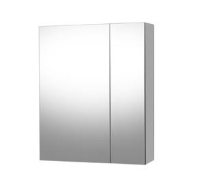 Skapis Riva SV57-1 Bathroom Cabinet with Mirror White