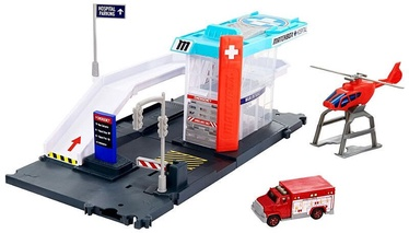 Mattel Matchbox Action Drivers Helicopter Rescue Playset GVY83