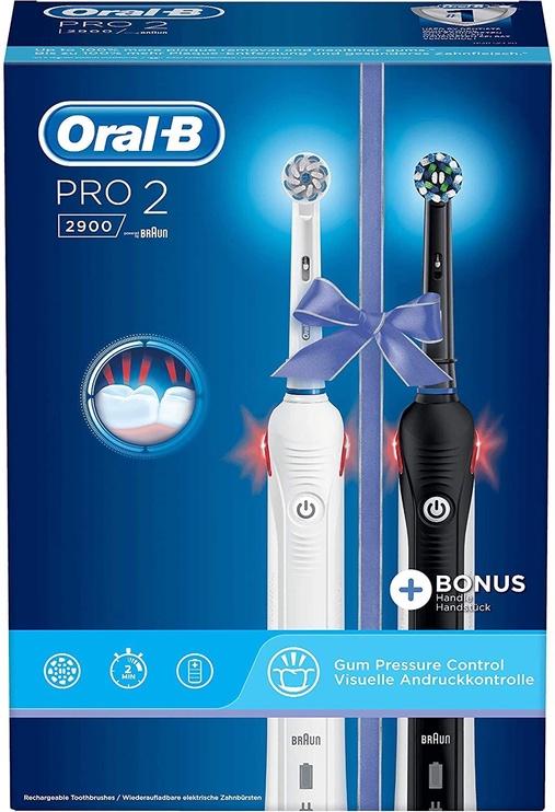 Elektriskā zobu birste Braun Oral-B PRO 2-2900 With 2 Toothbrush