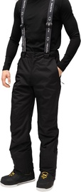 Audimas Mens Ski Pants Black 176/XL