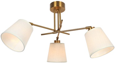 Verners Guste Ceiling Lamp 3x40W E14 Brass