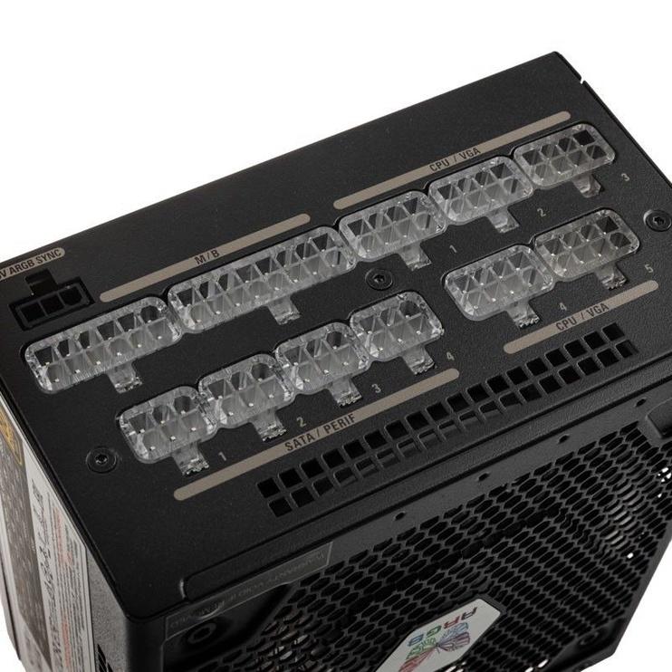 Super Flower Leadex III ARGB 80 Plus Gold 650W Black