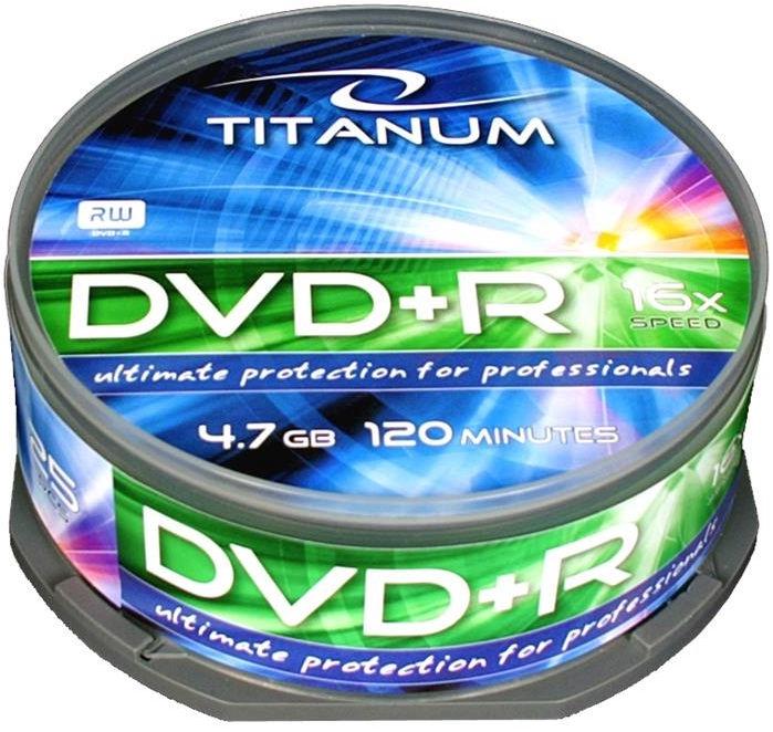 Esperanza 1287 DVD+R Titanum 16x 4.7GB Cake Box 25
