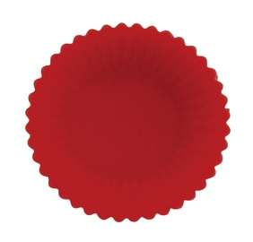 SN Silicone Baking Form D7cm 6pcs Red
