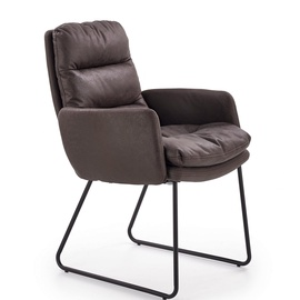 Halmar Fassi Chair Dark Grey