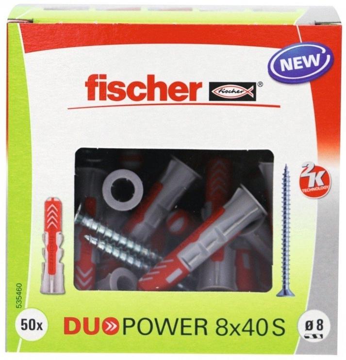 Fischer DuoPower Dowels 8x40 S 50pcs