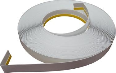 Apdares lente Soudal Window Trim Strip PVC With Soft Edge 40mmx50m