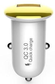 Devia Mushroom Series USB Car Charger Gold
