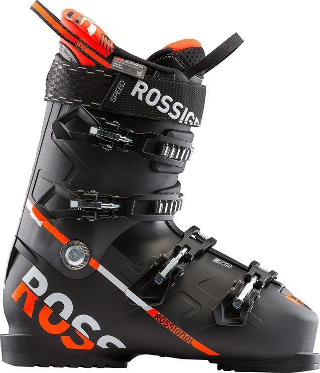 Rossignol Speed 120 Ski Boots Black/Red 27.5