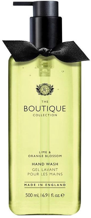 Šķidrās ziepes The English Bathing Company Boutique Lime & Orange Blossom, 500 ml