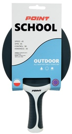 Point Ping Pong Racket School Outdoor Black