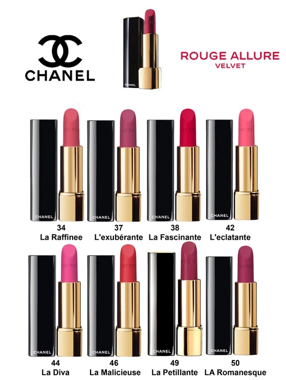 Lūpu krāsa Chanel Rouge Allure Velvet Luminous Matte Lip Colour 34, 3.5 g
