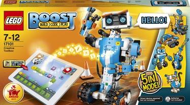Конструктор LEGO Boost Набор для конструирования и программирования 17101, 847 шт.