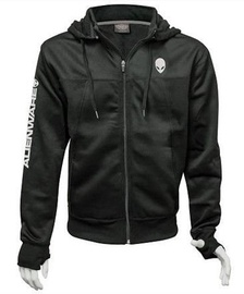 Alienware Poly-Tech Zip Hoodie Black M