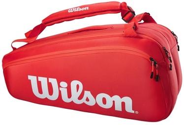 Спортивная сумка Wilson Super Tour, красный