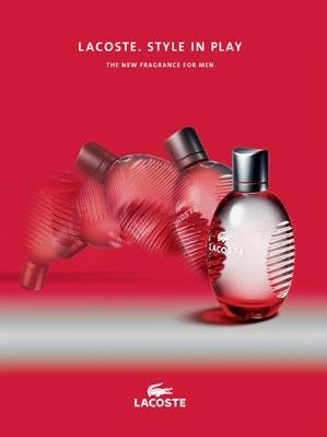 Tualetes ūdens Lacoste Red 125 ml EDT