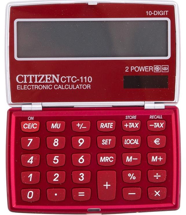 Citizen Pocket CTC 110RDWB