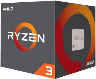 Процессор AMD Ryzen 3 1200 3.4GHz 10MB BOX YD1200BBAEBOX, 3.1ГГц, AM4, 10МБ