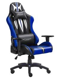 Spēļu krēsls Warrior Chairs Sword Black/Blue