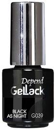 Depend GelLack Black As Night 5ml