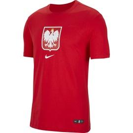 T-krekls Nike, sarkana, L