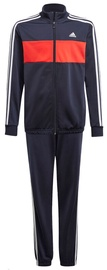 Adidas Essentials Track Suit GN3972 Navy Blue-Red 164cm