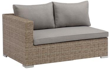 Dārza dīvāns Masterjero J5145 Sofa, brūna, 132 cm x 84 cm x 65 cm