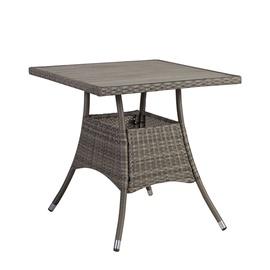 Dārza galds Home4you Paloma Brown/Grey, 74 x 74 x 72.5 cm