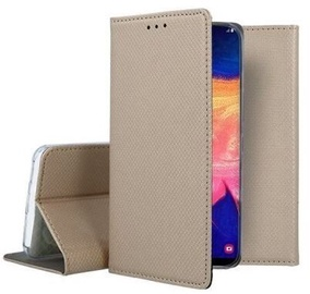 Mocco Smart Magnet Book Case For Samsung Galaxy A12 Gold