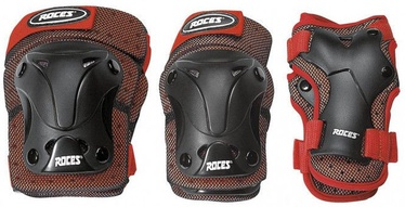 Roces SJR Ventilated Three Pack Black/Red