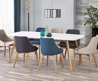 Обеденный стол Halmar Kajetan Oak, 1500 - 2000x850x760 мм
