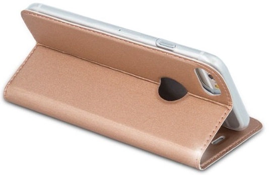 Mocco Smart Premium Book Case For Apple iPhone 6/6s Rose Gold