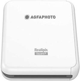 AgfaPhoto Square Printer White ASQP33WH