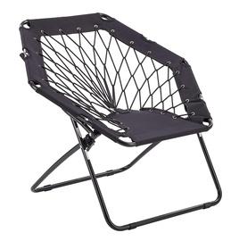 Halmar Widget Folding Garden Chair Black