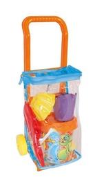 Набор игрушек для песочницы Adriatic Trolley, многоцветный, 5 шт.
